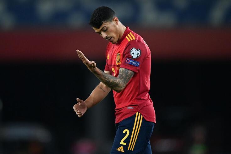 Porro foi titular na vitória da Espanha frente à Geórgia