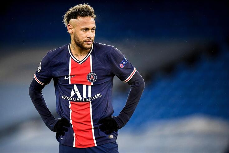 Neymar saiu sem glória da Liga dos Campeões