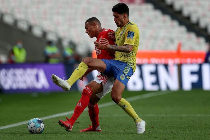 Carlos Vinícius está de saída do Benfica