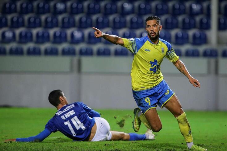 Heliardo deu o triunfo ao Arouca frente ao Feirense