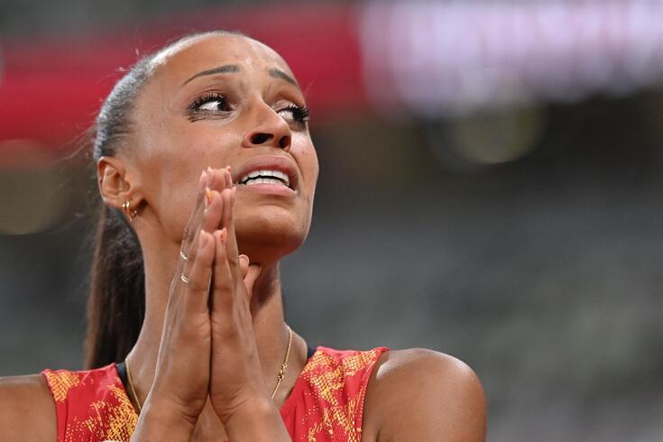 Ana Peleteiro, atleta de triplo salto