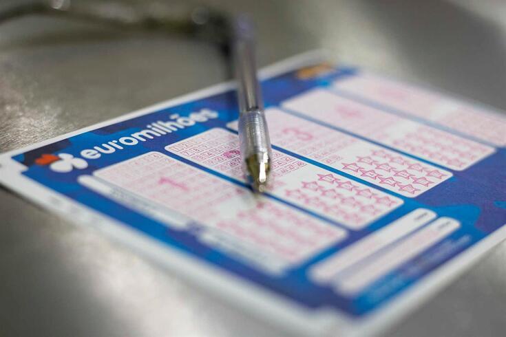 Euromilhões: os números sorteados e um jackpot de 95 milhões de euros