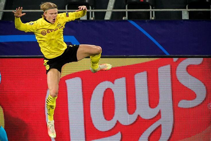 Erling Haaland, avançado do Borussia Dortmund