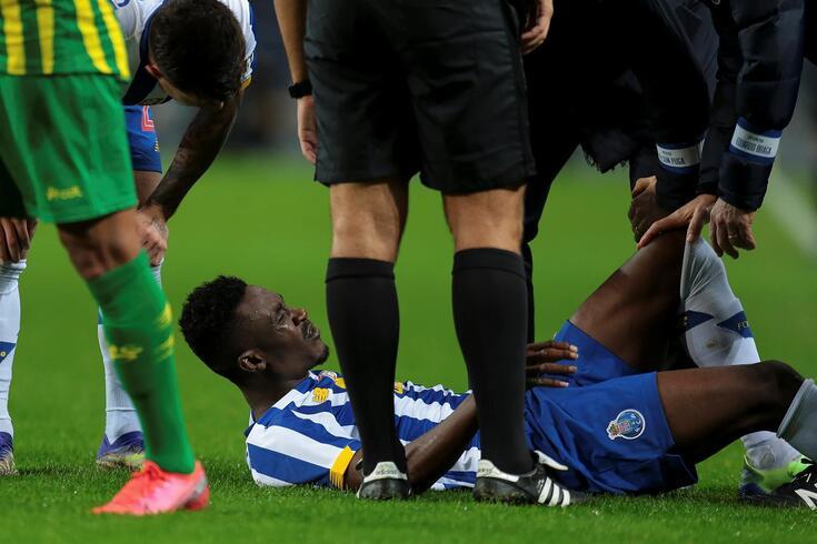 Zaidu saiu lesionado do jogo frente ao Tondela