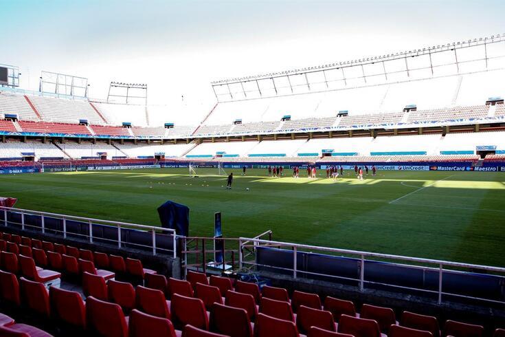 Estadio Sánchez Pizjuán, em Sevilha.