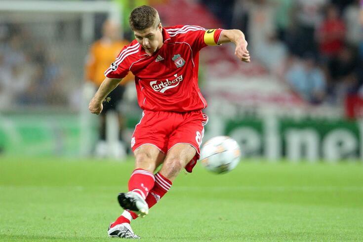 Gerrard, uma lenda do Liverpool