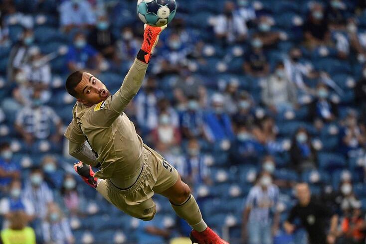 Diogo Costa assumiu a titularidade no FC Porto esta época