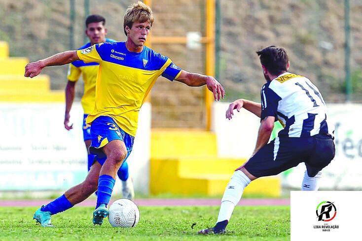 Afonso Valente, capitão da equipa de sub-23 do Estoril