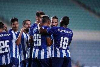 FC Porto vence Louletano. Confira os marcadores dos golos e os jogadores utilizados