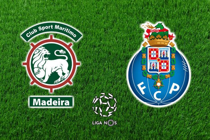DIRETO | Marítimo-FC Porto