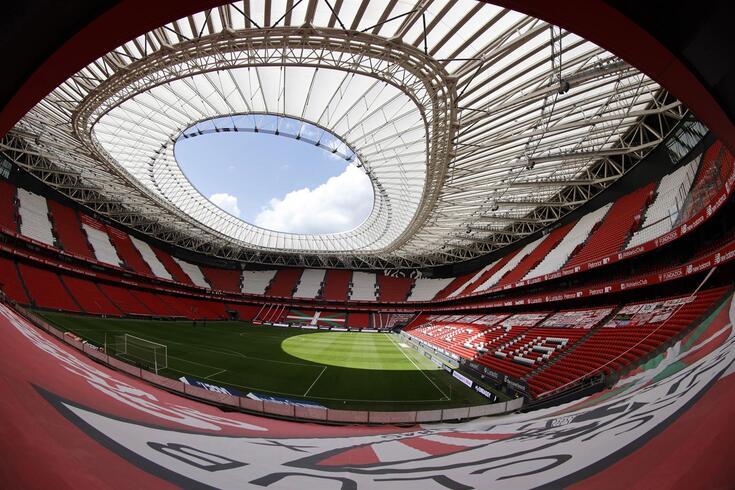 Estádio San Mamés, em Bilbau, é um dos palcos previstos para o Europeu