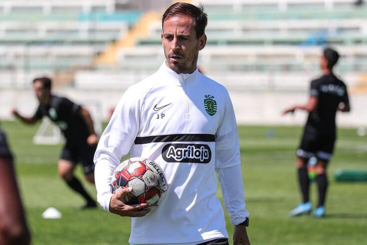 João Pereira, treinador adjunto da formação sub-23 do Sporting