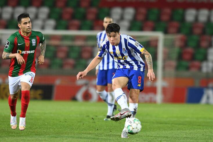 Uribe, médio do FC Porto