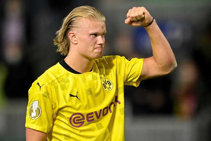 Erling Haaland, avançado do Dortmund