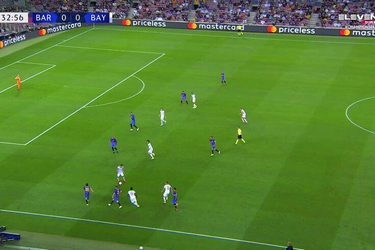 Com alguma sorte à mistura, Muller marca no Barcelona-Bayern