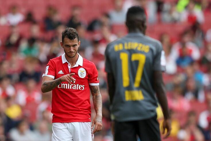 Pedro Pereira não se conseguiu afirmar na principal equipa do Benfica