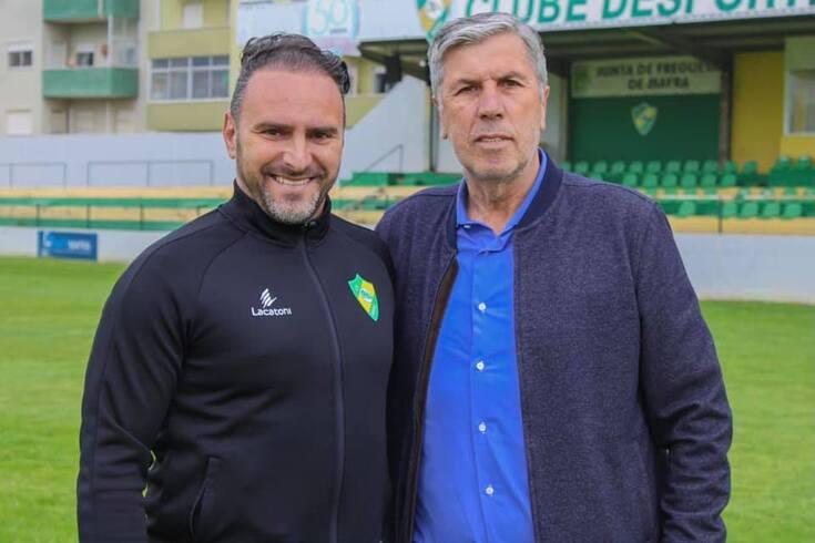 Ricardo Sousa apresentado como treinador do Mafra