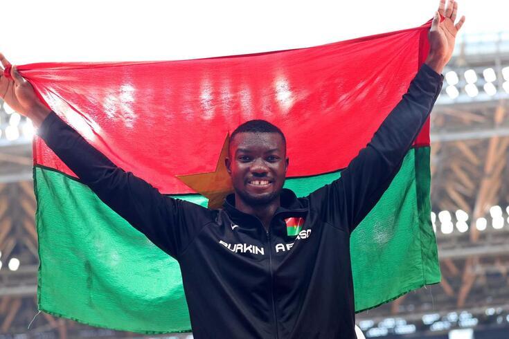 Fabrice Zango conseguiu a primeira medalha em Jogos Olímpicos para o Burkina Faso