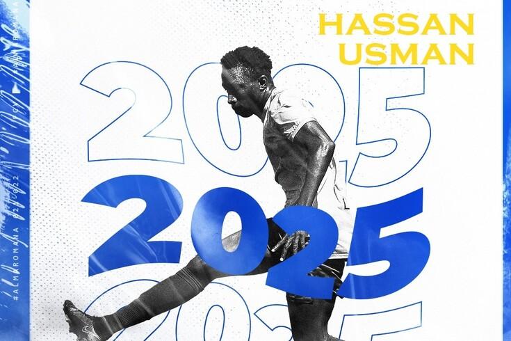 Hassan Usman renovou pelos vizelenses