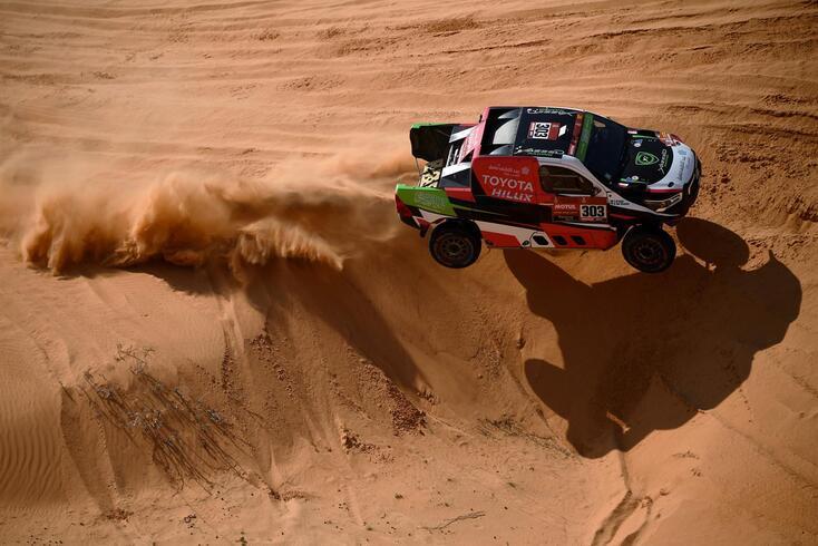 Yazeed Al-Rajhi (Toyota) venceu décima etapa do Dakar