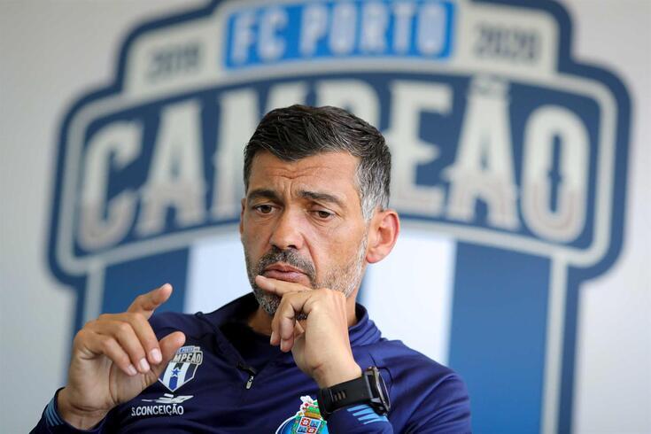 Sérgio Conceição, treinador do FC Porto, em entrevista exclusiva a O JOGO