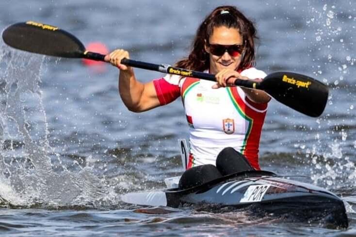 Joana Vasconcelos, canoísta portuguesa