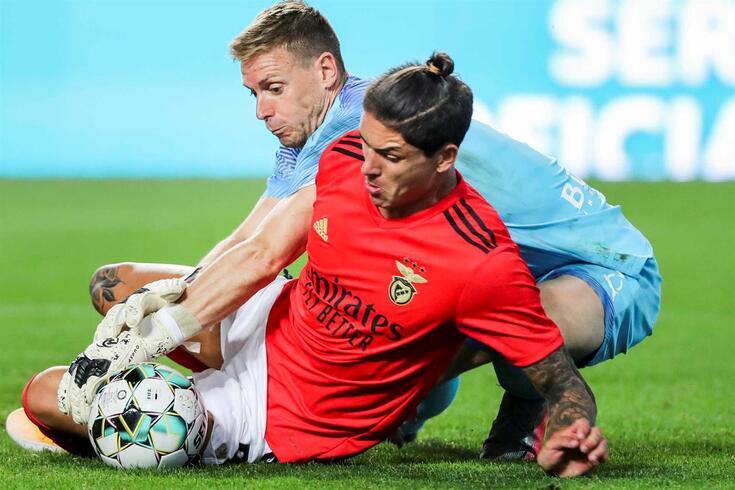 Darwin Núñez, uruguaio contratado pelo Benfica ao Almería