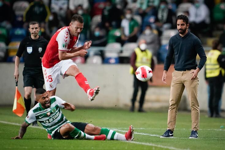 Rúben Amorim destacou a resposta da equipa na Supertaça