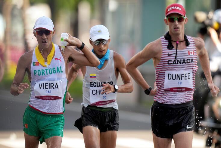 João Vieira foi quinto nos 50 quilómetros marcha