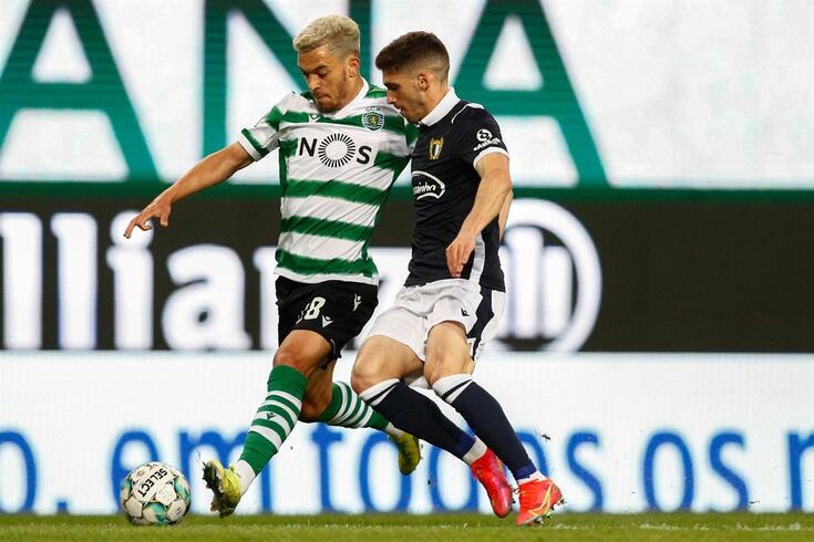 Rúben Vinagre fez uma boa exibição no empate (1-1) em Alvalade