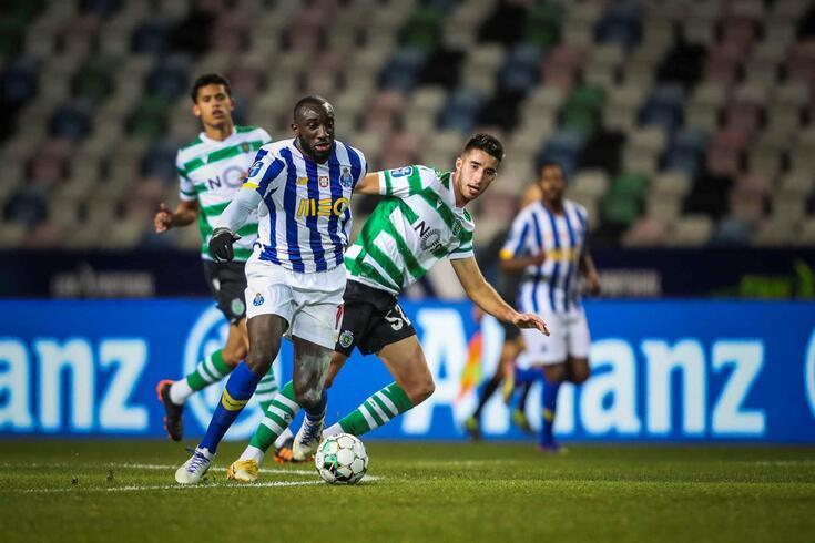 Leiria, 19/01/2021 - O Sporting Clube de Portugal recebeu esta tarde o Futebol Clube do Porto no Estádio