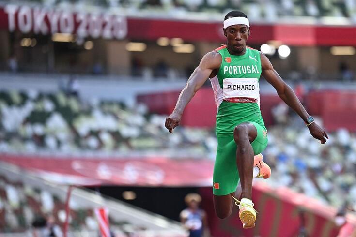 Pedro Pichardo conquistou a medalha de ouro em Tóquio'2020