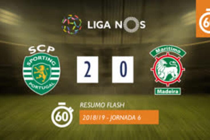 A vitória do Sporting sobre o Marítimo em 60 segundos