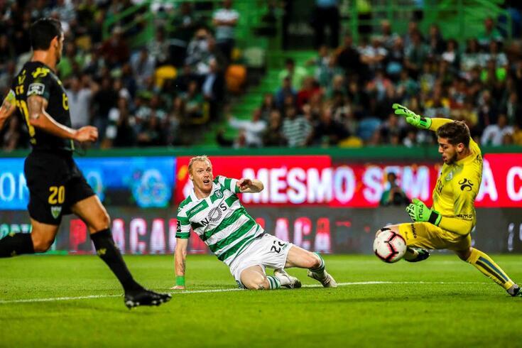 Sporting e Tondela empataram 1-1. Confira as notas atribuídas por O JOGO aos jogadores de ambas as equipas