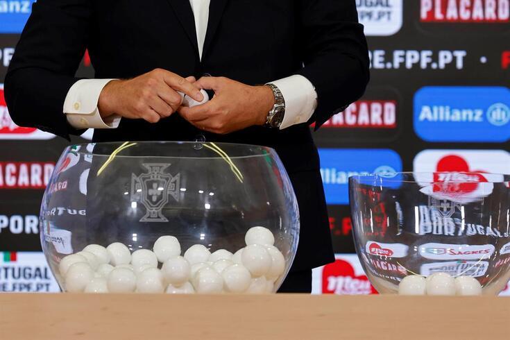 Taça de Portugal: os jogos e os horários da terceira eliminatória