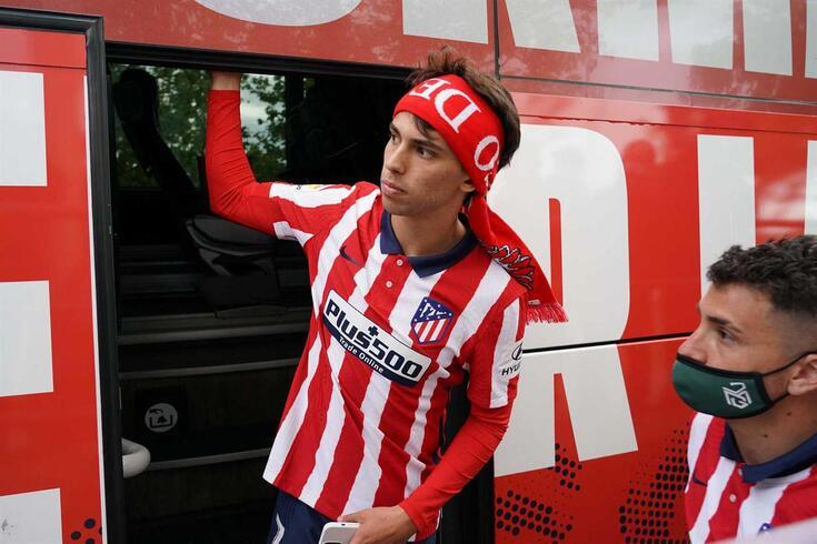 João Félix, avançado português do Atlético de Madrid