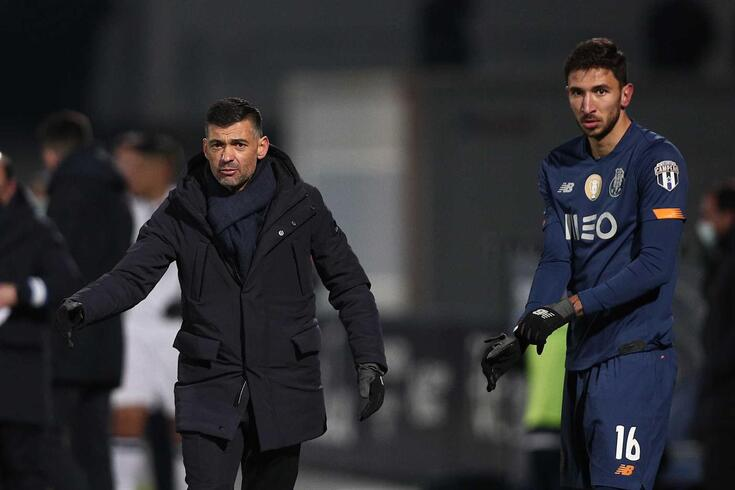 Grujic e Sérgio Conceição