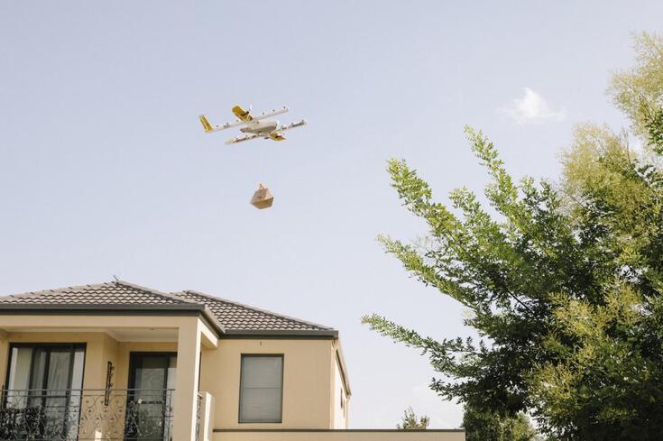 Primeiro serviço de entregas por drone já está autorizado