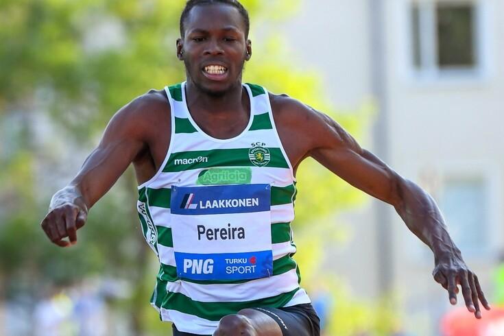 Tiago Pereira, atleta do Sporting