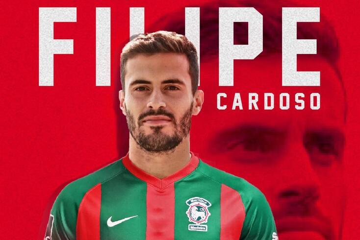 Filipe Couto Cardoso, médio que reforça o Marítimo