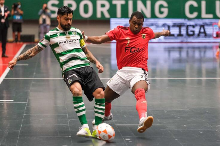 Sporting bateu o Benfica por 2-1