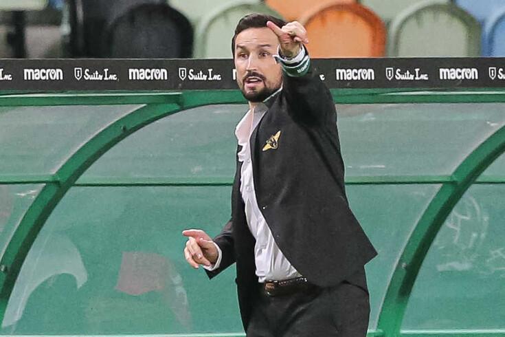 César Peixoto, treinador do Moreirense