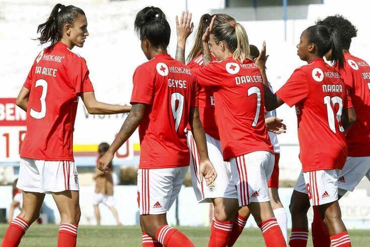 Equipa feminina do Benfica regressa com testes e exames médicos e um reforço leonino