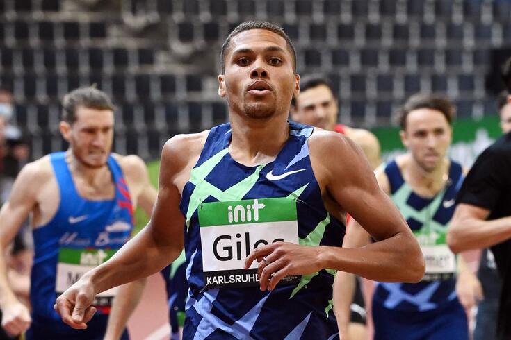 Elliot Giles, atleta britânico