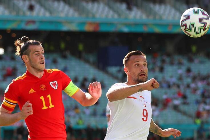 Bale e Seferovic em ação no País de Gales-Suíça