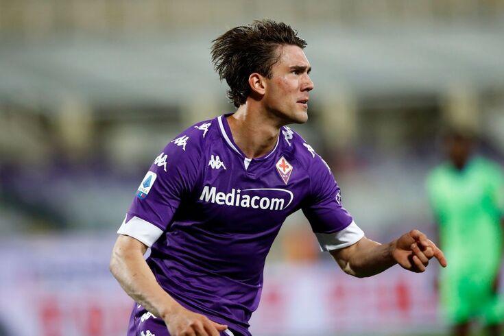 Dusan Vlahovic, avançado da Fiorentina