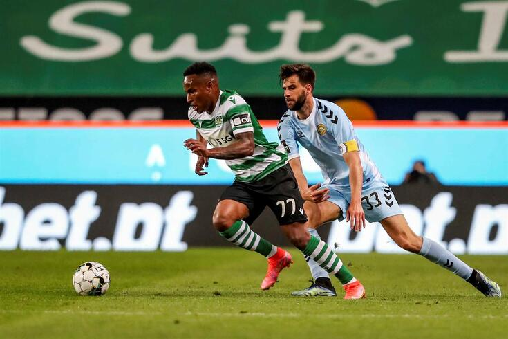 Jovane, extremo do Sporting