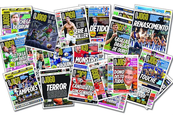 O JOGO eleito melhor jornal desportivo