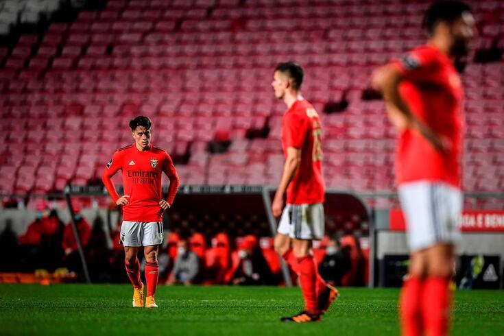 Benfica deixou fugir dois pontos frente ao Nacional