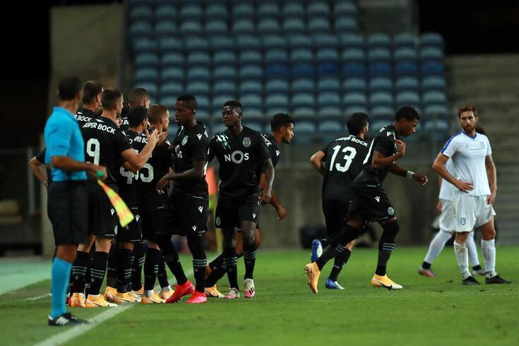Sporting tem seis casos de covid-19 no plantel
